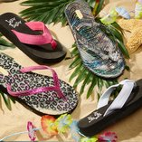 Hawaiian Luau: Sandals