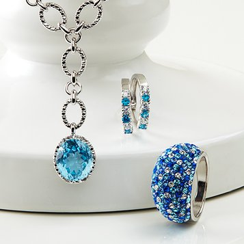 Shades of Blue: Women's Jewelry
