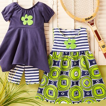 Fresh for Spring: Girls' Apparel